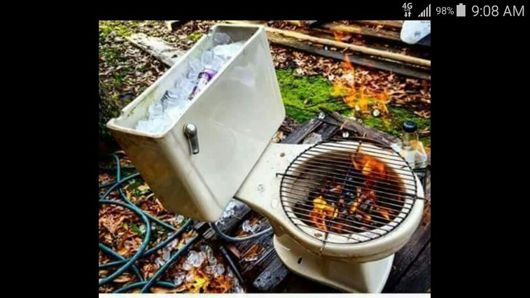 DIY Grill and Cooler