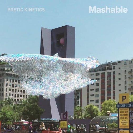 Design studio creates giant kinetic sculptures