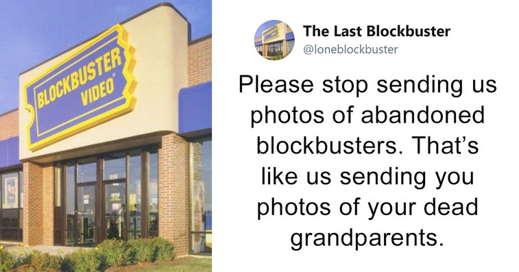 The Last Blockbuster Is Alive, And Here's 10+ Of Their Funniest Tweets
