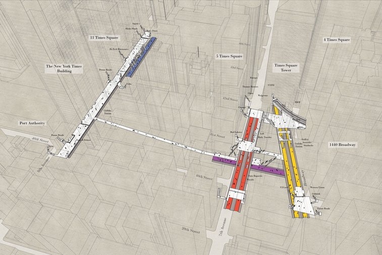 X-Ray Area Maps — Project Subway NYC
