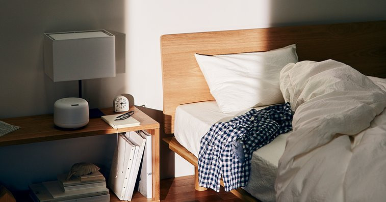 For a good sleep. | MUJI