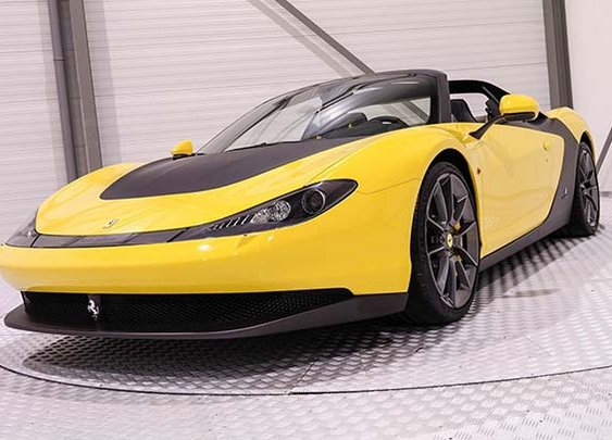 First Ferrari SERGIO to hit the market is valued on $5.1 Million
