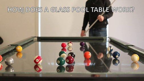 How Does a Glass Top Pool Table Work - FAQ's - YouTube