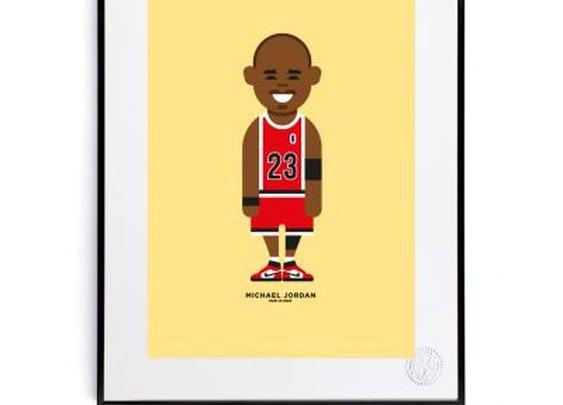 Le Duo Michael Jordan Print - Print Shop - Shop