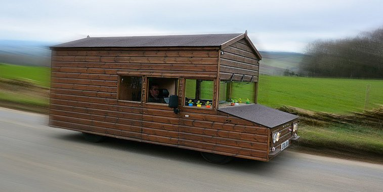 The World's Fastest Street-Legal Shed Can Do 96 MPH