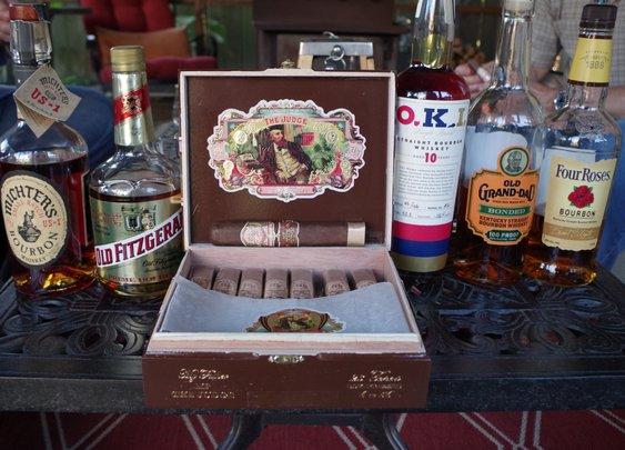 Bourbon And Cigar Pairing: My Father The Judge – bourbonveachdotcom