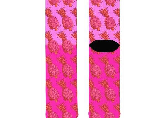 Pink Pineapple Socks – Adult Swim Time