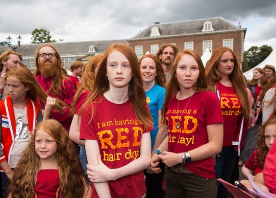 The World's Largest Redhead Festival Was Founded by a Blonde