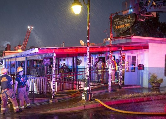 Franklin Barbecue fire: Damage extensive, Aaron Franklin says