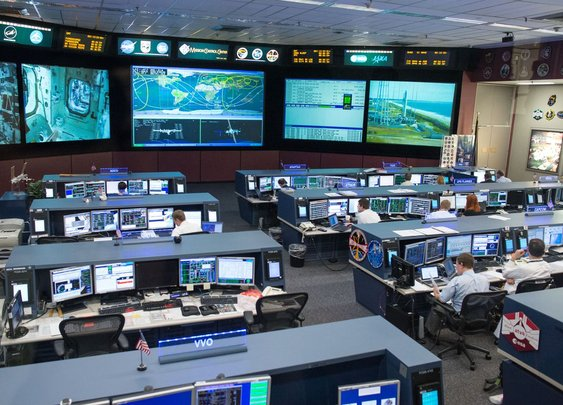 How NASA kept the ISS flying while Harvey hit Mission Control