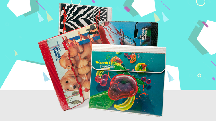 The History of the Trapper Keeper