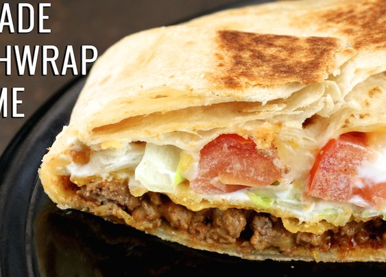 Homemade Taco Bell Crunchwrap Supreme Recipe