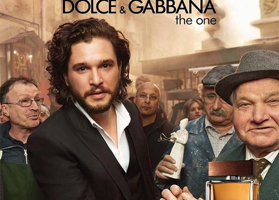 Kit Harington and Emilia Clarke Stars in Dolce & Gabbana's The One Fragrance Campaign