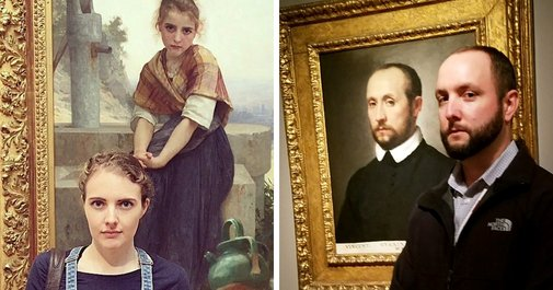 10+ Times People Accidentally Found Their Doppelgängers In Museums And Couldn't Believe Their Eyes | Bored Panda