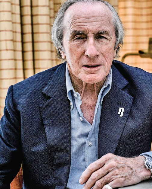 Lunch with... Sir Jackie Stewart