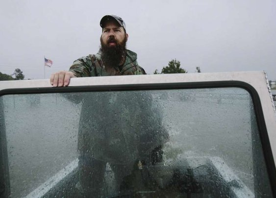 I downloaded an app. And suddenly, was part of the Cajun Navy.