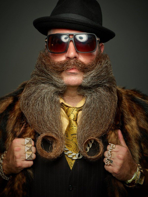 Glorious Portraits from the 2017 World Beard And Mustache Championship