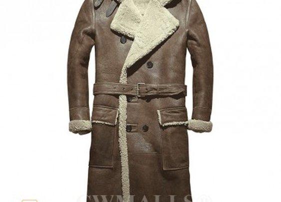 CWMALLS® New York Winter Sheepskin Pea Coat CW807611 [Updated ...