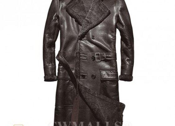 CWMALLS® Columbus Long Winter Sheepskin Coat CW807610 [Updated ...