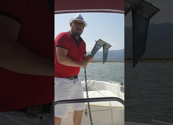 How Not to Throw An Anchor Off Of a Boat