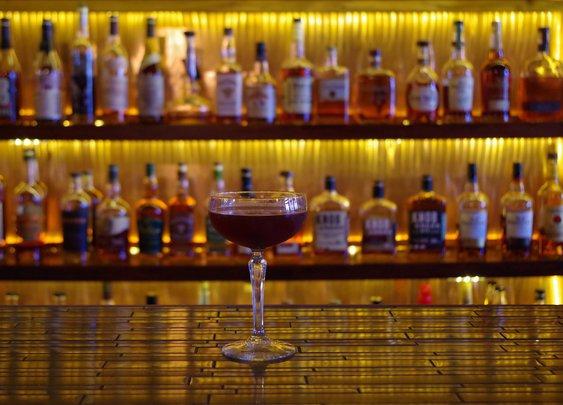 """Match Cigar Bar's """"Perfect Manhattan"""" - The Bourbon Review"""