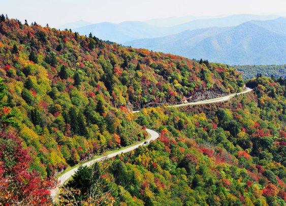Blue Ridge Parkway Could be the Most Spectacular Place to Experience Autumn