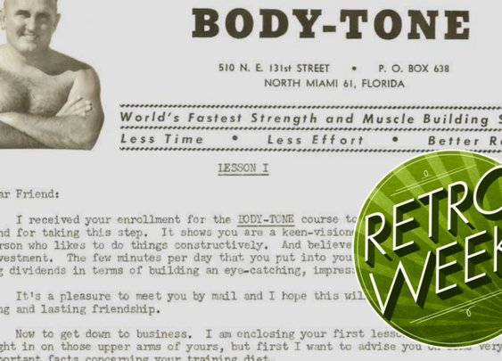 I Tried a Vintage Mail Order Bodybuilding Course