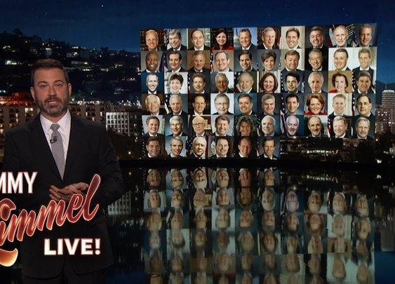 Jimmy Kimmel on Mass Shooting in Las Vegas