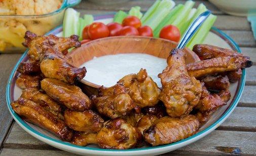 Blasphemy Wings: Buffalo Chicken Wings On the Grill