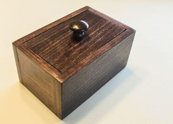 Nail Puzzle Box: 19 Steps