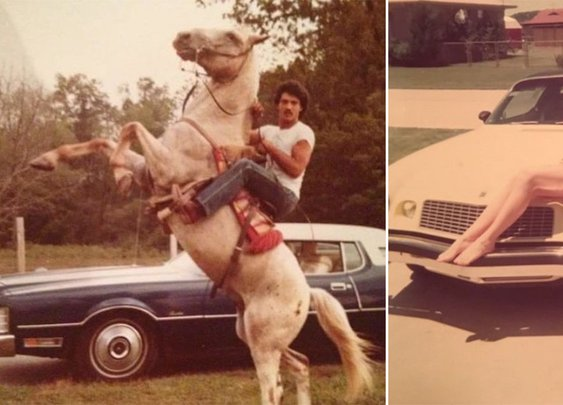 People's parents when they were younger and far cooler than them : theCHIVE