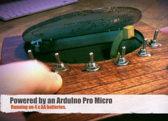 Advanced Useless Machine - YouTube