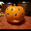 DIY Rolling Eyeball Pumpkin (Powered By Arduino)