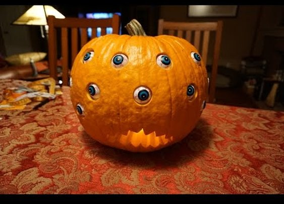 DIY Rolling Eyeball Pumpkin (Powered By Arduino)