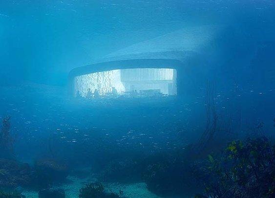 Snøhetta Unveils Design for Europe's First Underwater Restaurant