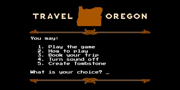 Travel Oregon remakes Oregon Trail
