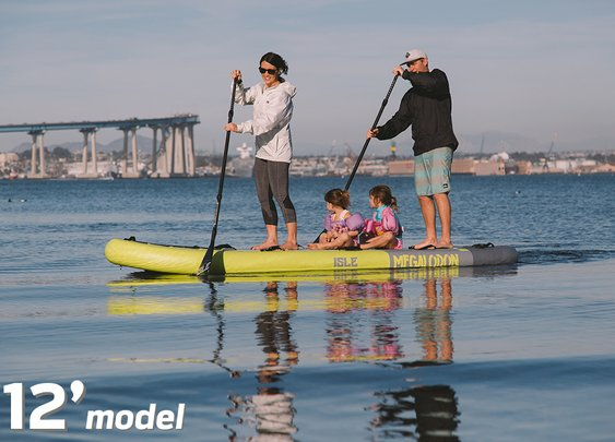 ISLE Megalodon Inflatable Paddle Board Package | ISLE Surf