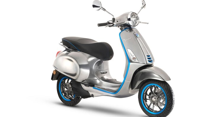 Vespa's first electric scooter will arrive in 2018
