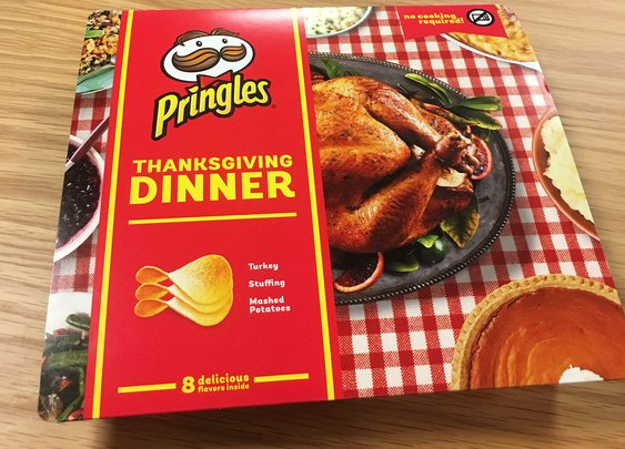 Pringles' Thanksgiving (Chip) Dinner