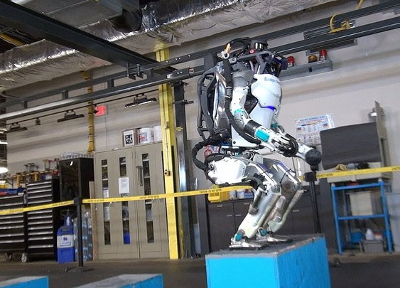 Boston Dynamics Robot Can Now Do Backflips