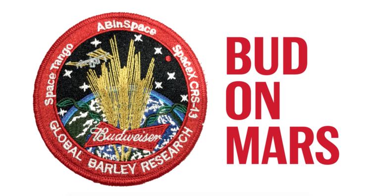Budweiser is Bringing Beer to Mars