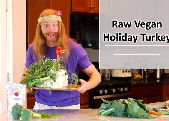 How to Make a Raw Vegan Turkey!