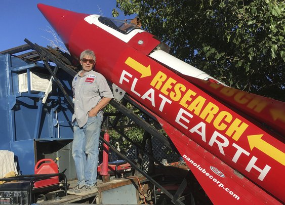 Flat-Earther Set To Launch Himself In Own Rocket