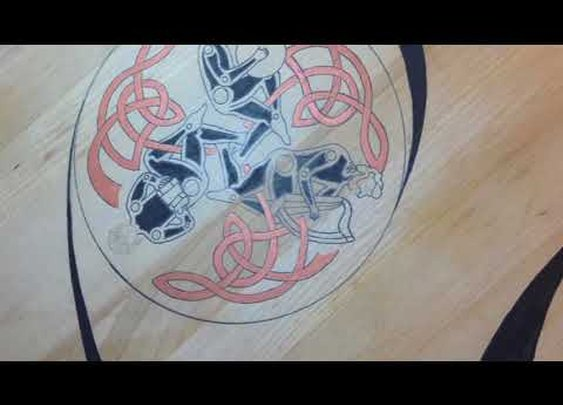 Celtic music themed table - YouTube
