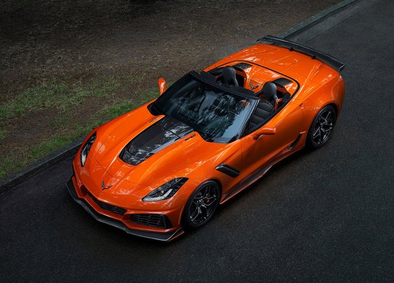 2019 Corvette ZR1 Convertible | Uncrate