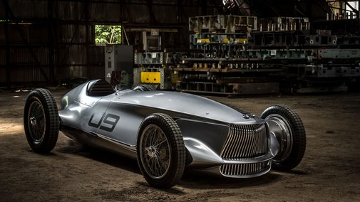 The Infiniti Prototype 9's racing body hides an electric heart - The Verge