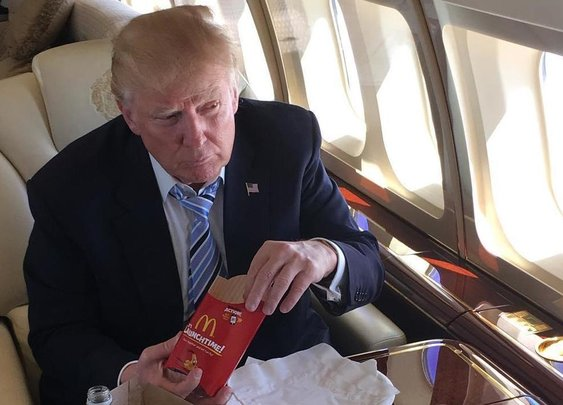 What Donald Trump orders from McDonald's
