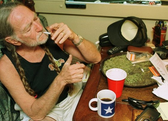 9 Celebrities Share Funny Stories about Smoking Weed with Willie Nelson