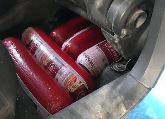 Woman Tries to Smuggle 227 Pounds of Bologna Across Border