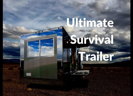 The Ultimate Luxury Survival Trailer from Living Vehicle - YouTube